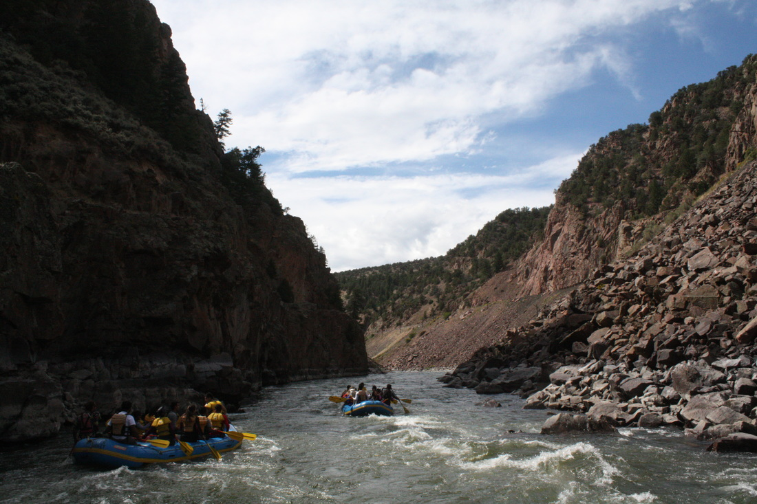 Scenic Class II/III full day float trips on the Colorado River!