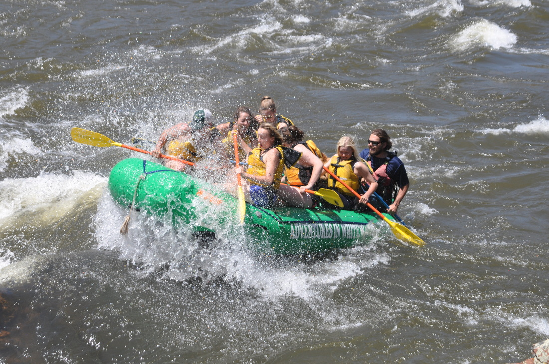 Colorado River Whitewater-  Fun for the whole family!